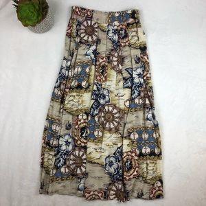 VTG Norton McNaughton Womens Pleated Skirt Size 8